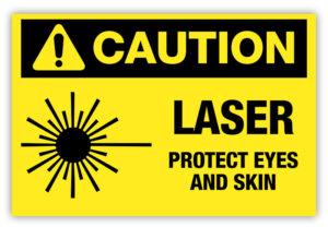 caution-laser
