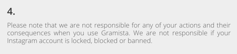 Gramista Banned