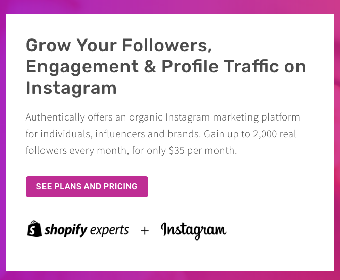 authentically use of Instagram logo Trademark Infringement