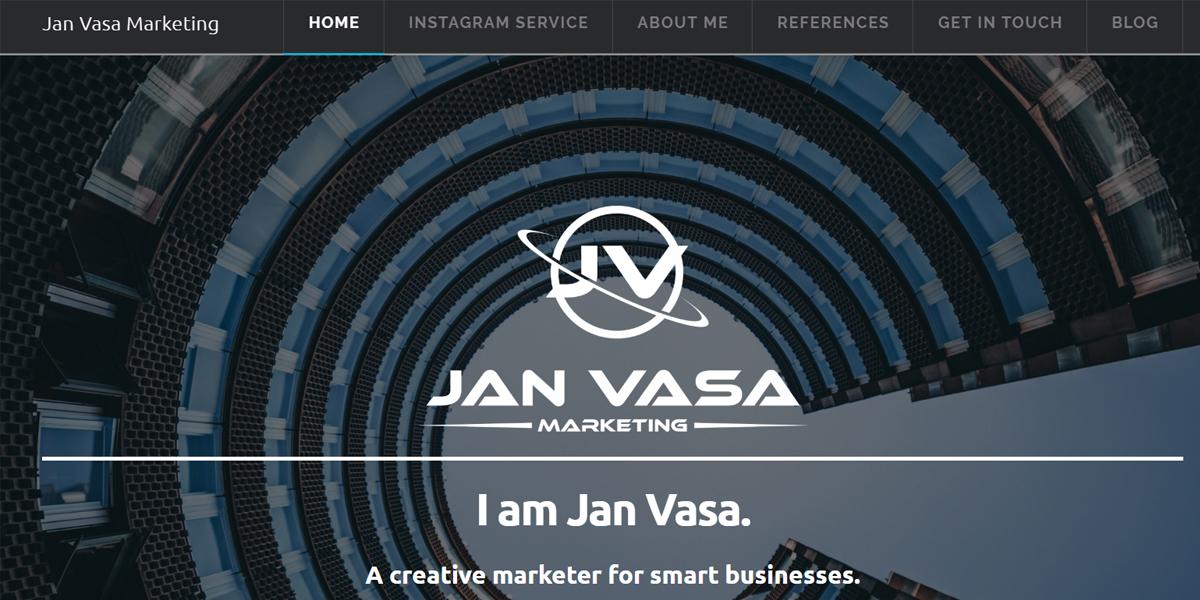 Jan Vasa Marketing Review