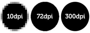 print resolution dpi examples