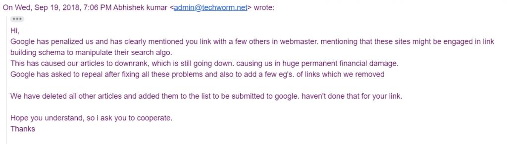 techworm.net scam