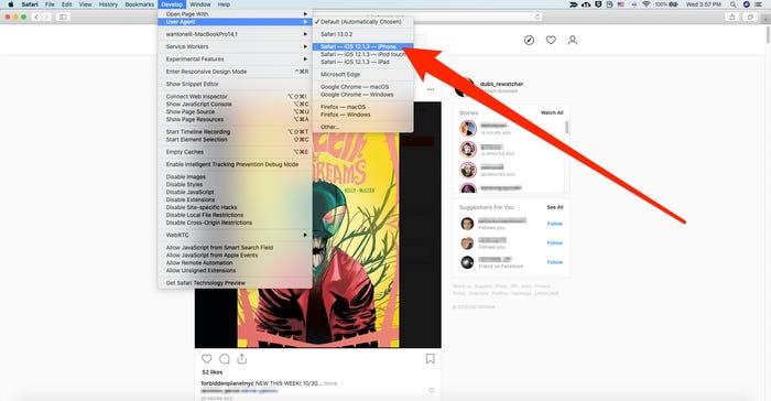Safari browser 3