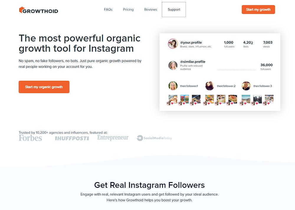 Growthoid - Get Instagram Followers