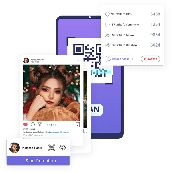 Instazood Social-Bridge-Instagram-Bot-App