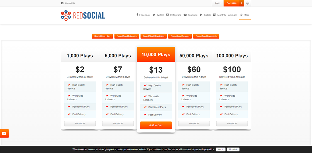 RedSocial Soundcloud