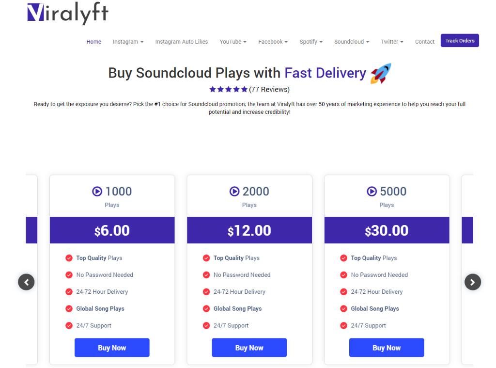 Viralyft SoundCloud