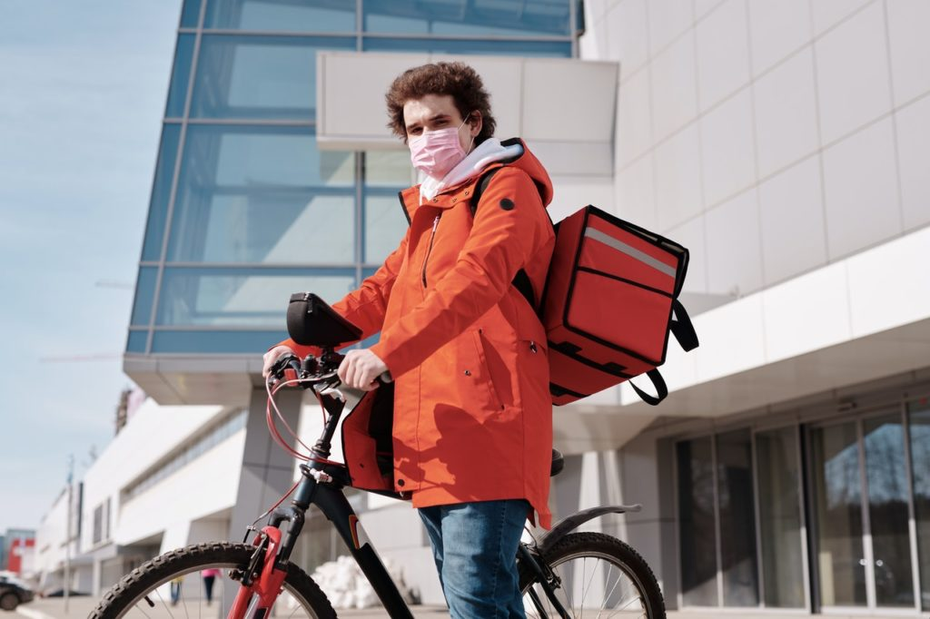 Bike Delivery-Man