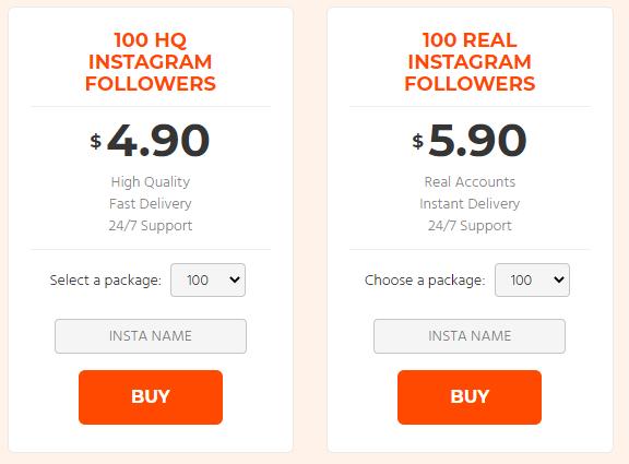 Cheap IG Followers Pricing