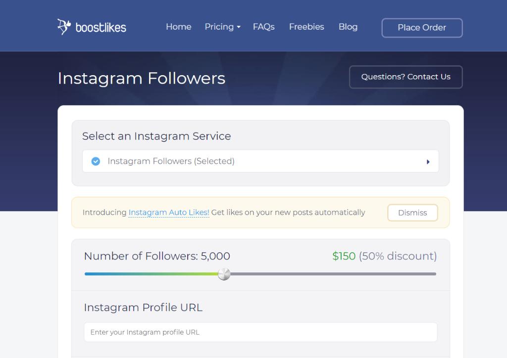 Boost Likes Instagram Followers