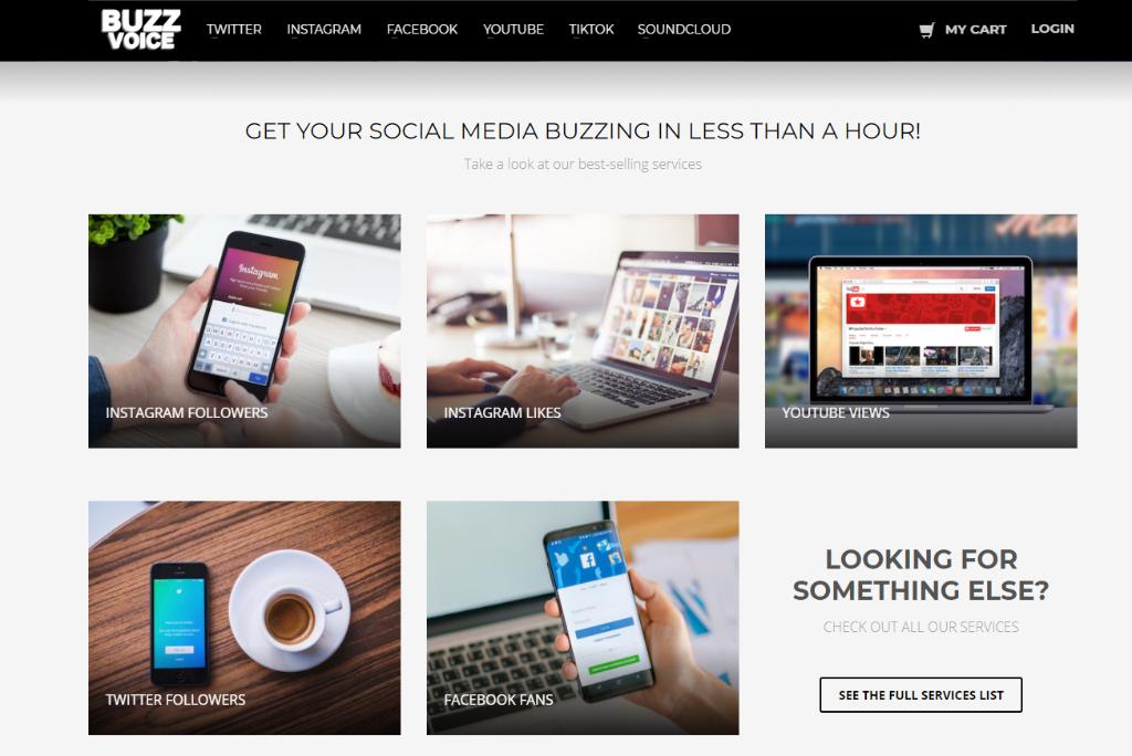 Buzzvoice social media buzzing