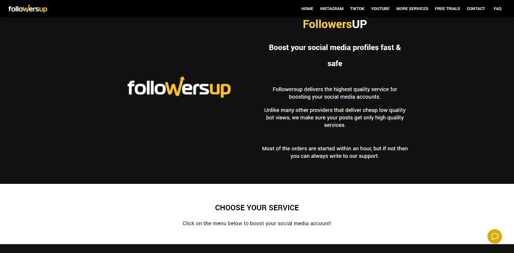 Followersup Review & Alternatives
