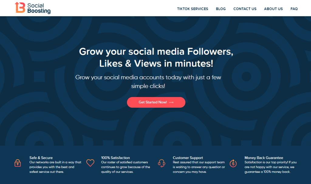 Social Boosting Review & User Ratings